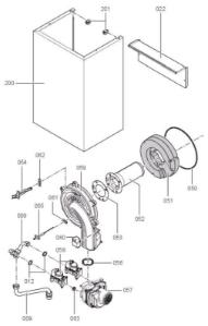 7194489 Vitodens 200-W WB2B 105kW System Boiler
