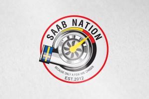 thiết kế logo saab
