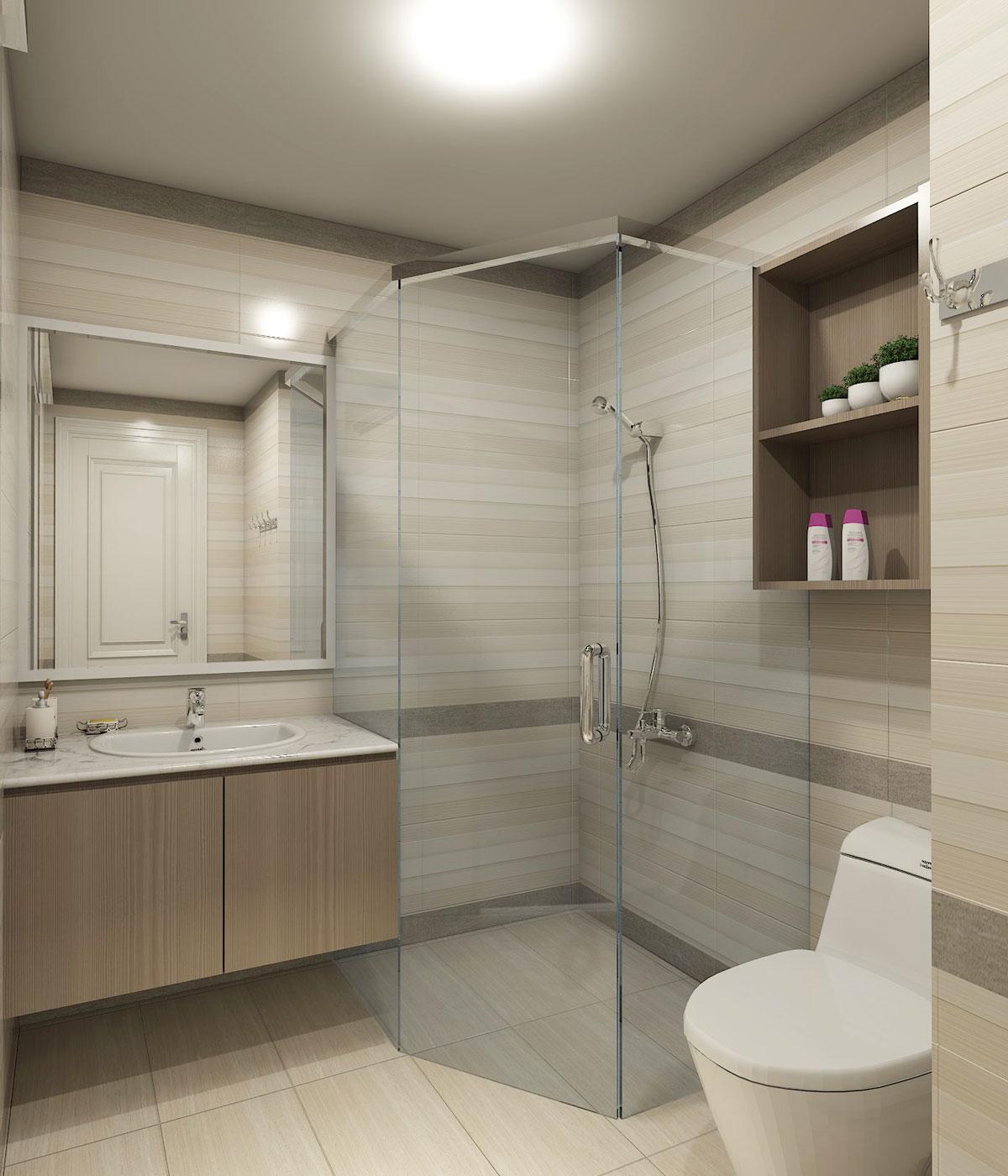 thiết kế nội thất chung cư 4s linh đông