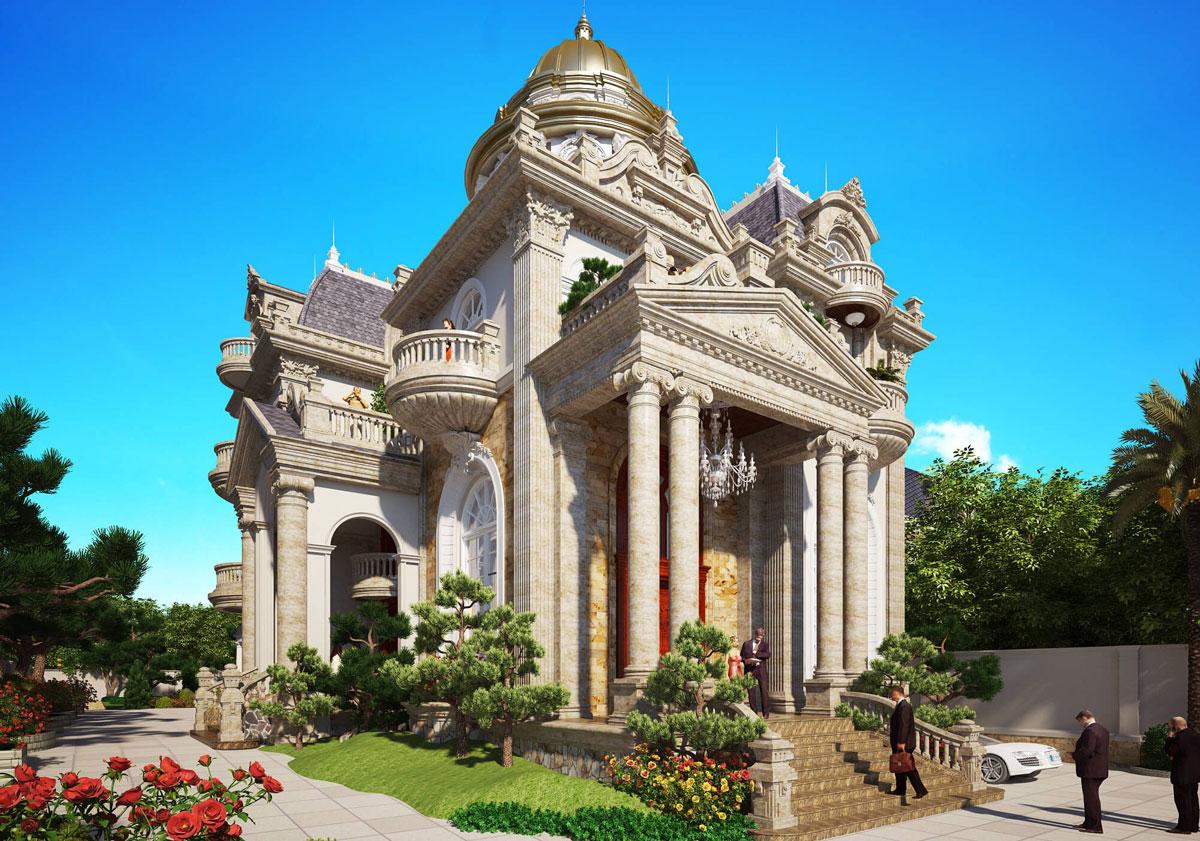 mẫu thiết kế lâu đài