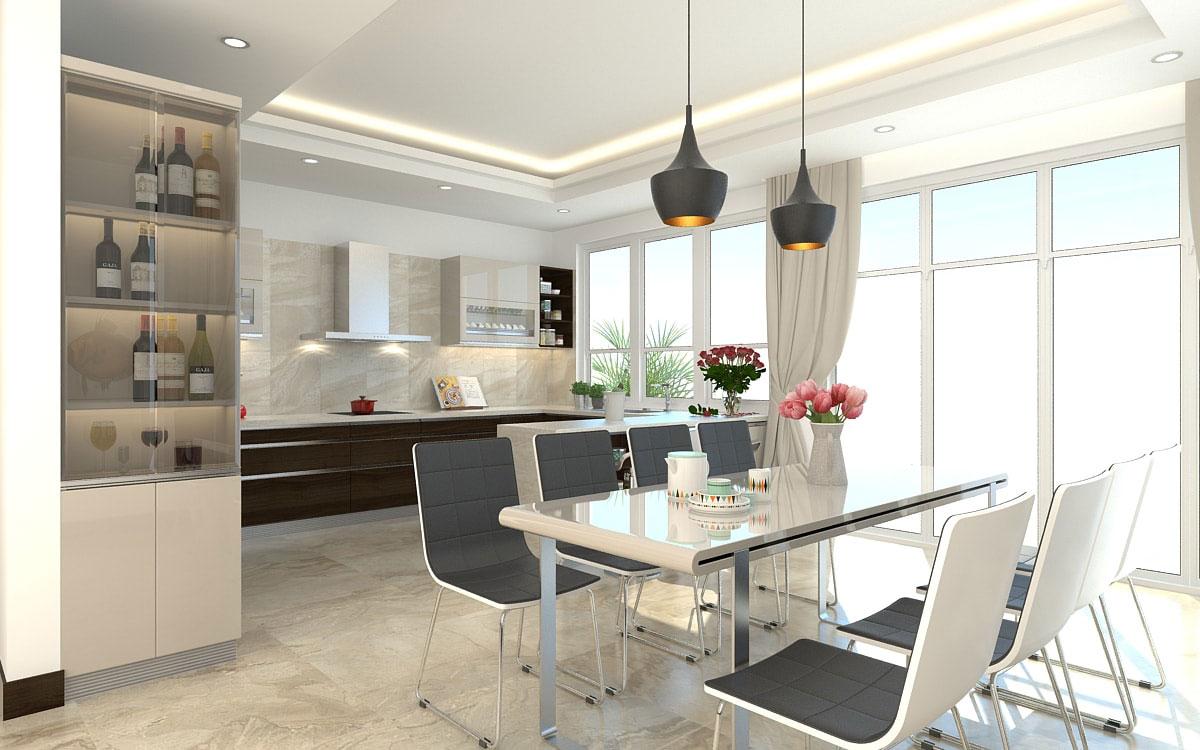 thiết kế nội thất chung cư Gamuda