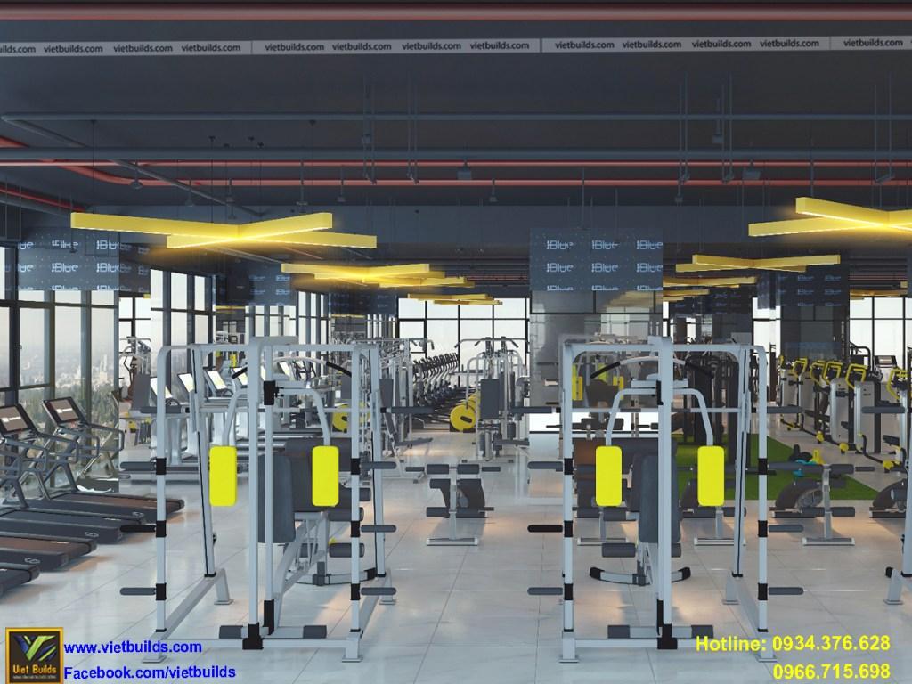 tiêu chuẩn thiết kế phòng tập gym