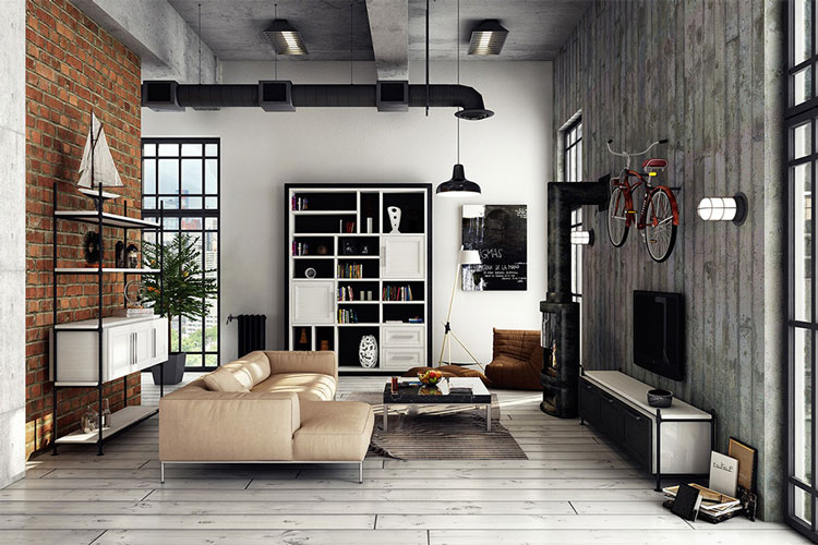 Phí thiết kế nội thất nhà phố