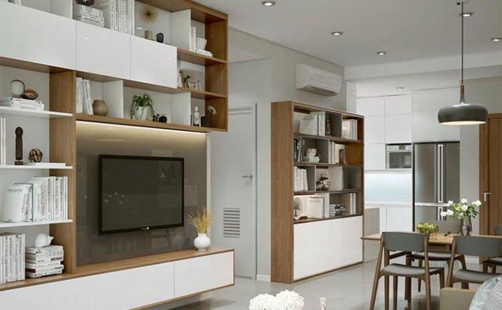 thiết kế nội thất chung cư sky city 88 láng hạ