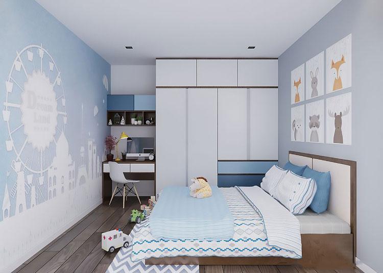 thiết kế nội thất chung cư southern dragon