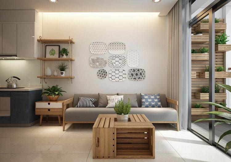 thiết kế nội thất chung cư viện 103