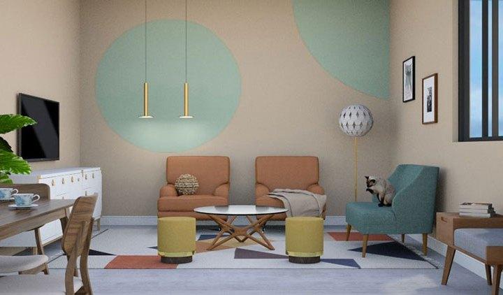mẫu thiết kế nội thất chung cư gia hòa