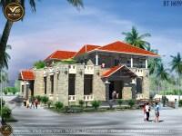 Mẫu thiết kế nhà hàng ĐẸP - Sang Trọng BT16059
