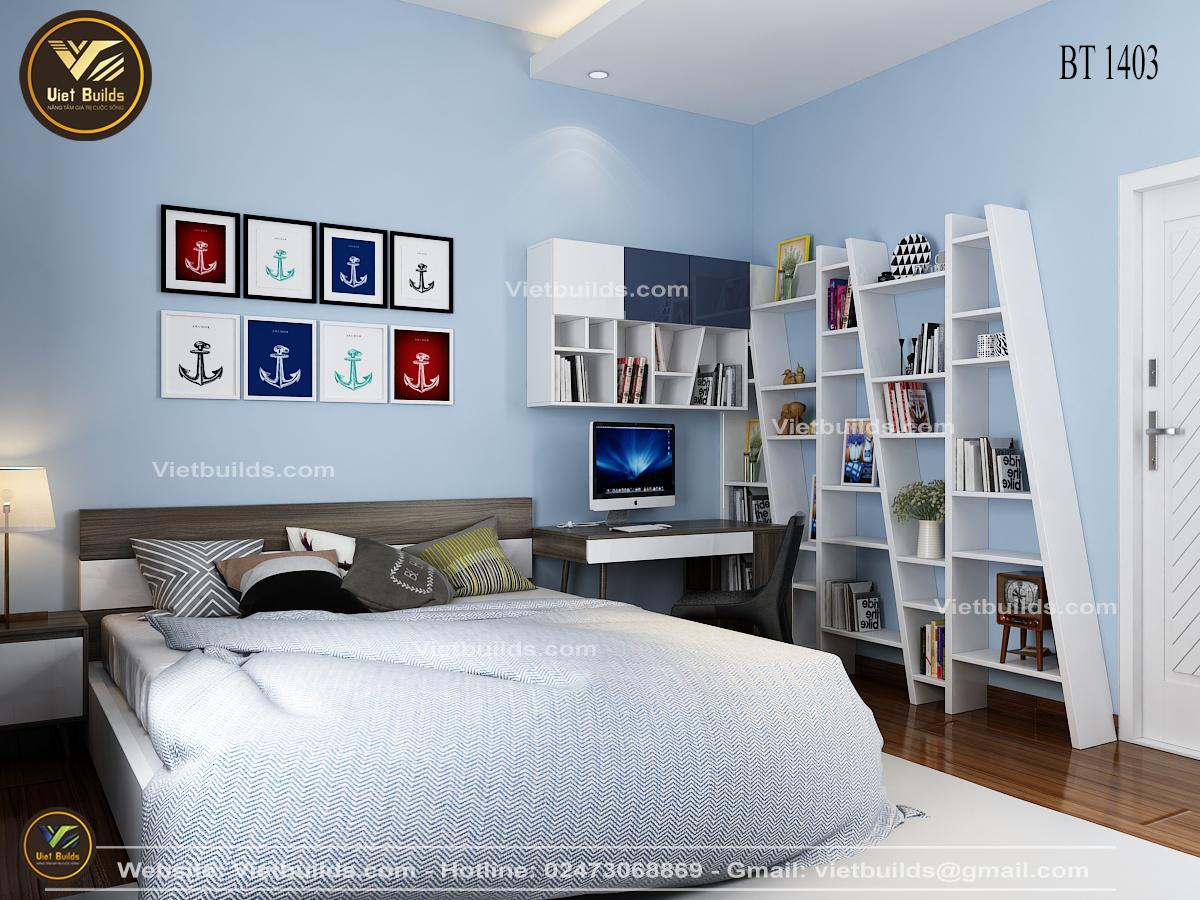 thiết kế nội thất chung cư unimax