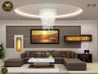 Mẫu thiết kế phòng khách đẹp hiện đại nhất hiện nay NT1394