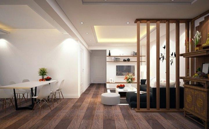 thiết kế nội thất chung cư HH4 Linh Đàm