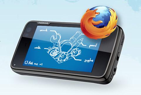 Nokia N900 và FireFox Mobile
