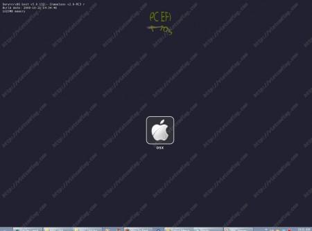 MAC-OSX-18: Màn hình chọn lựa HĐH boot trên MAC