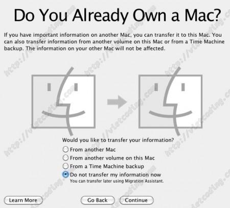 MAC-OSX-21: Đồng bộ dữ liệu từ một máy MAC khác