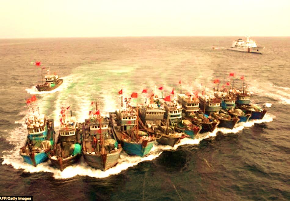 Trung Quốc phát động chiến tranh nhân dân trên biển để đánh với ai?