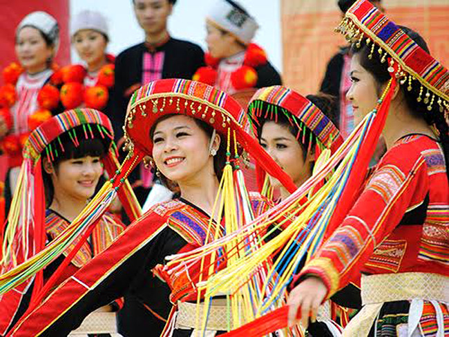 Viet Nam's population is diverse with different traditions and customs.