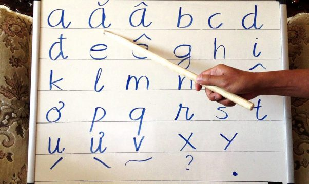 Learning the alphabets is advisable when you want to learn Vietnamese