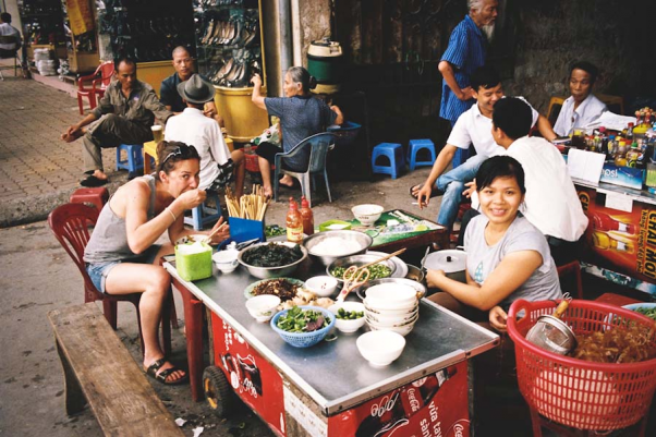 street food in Ho Chi Minh city
