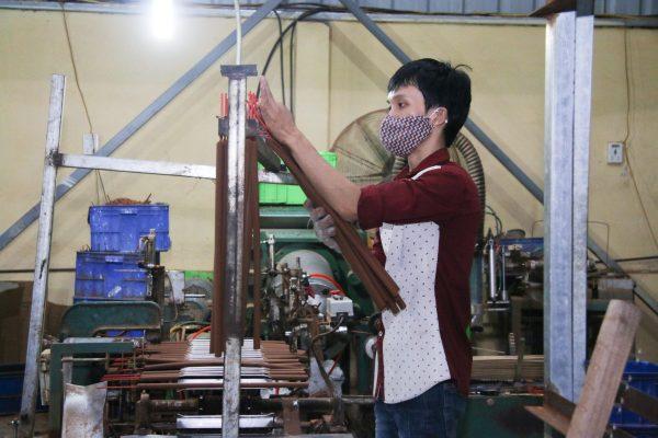 Quy trình sản xuất hương nhang sạch xuất khẩu - Việt Hương Trầm