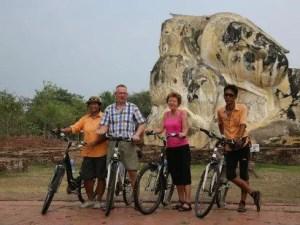 Bangkok Biking Tours to Nakhon Pathom_Thailand biking tours