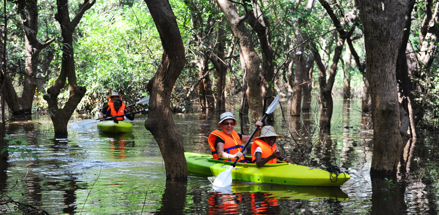 MYSTERIOUS CAMBODIA KAYAKING EXPEDITION