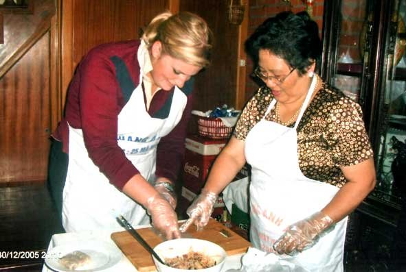 HANOI COOKING CLASS WITH MS. ANH TUYET