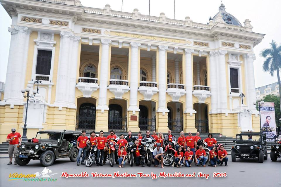 HANOI JEEP TOUR FOR SIGHTSEEINGS