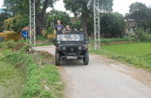 HOI AN JEEP TOUR TO CUA DAI BEACH