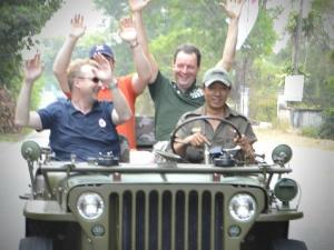SAIGON JEEP TOUR TO CU CHI TUNNEL AND CAO DAI HOLYSEE