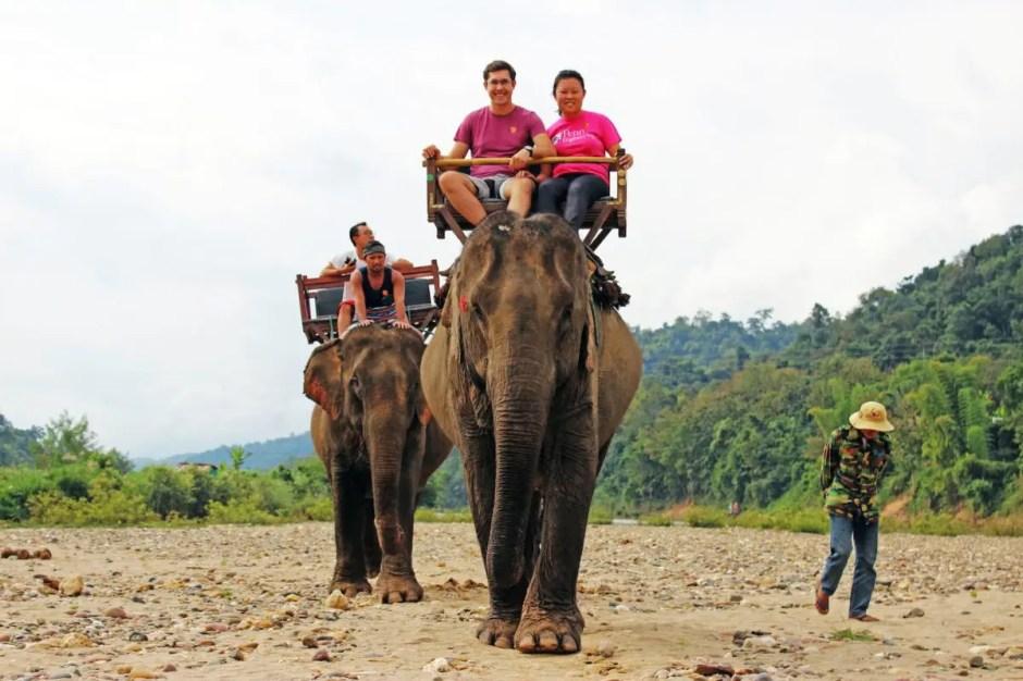 LUANG PRABANG ELEPHANT RIDING AND HIKING TRIP