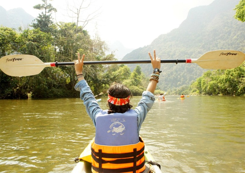 ONE DAY PAKSE KAYAKING TOUR