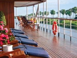 Avalon Angkor Downstream Cruise Holiday from Siemreap to Saigon