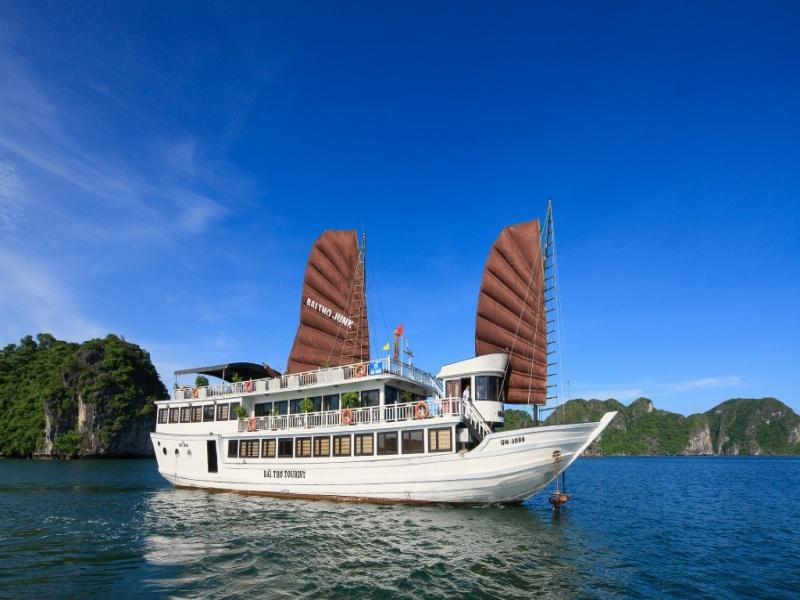 3-Day Halong Bay Cruise Holiday on Bai Tho Junk
