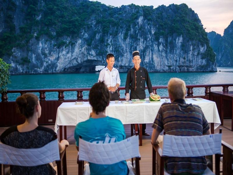 Luxury Halong Bay Holiday on Dragon Legend Cruise - 3 Days / 2 Nights