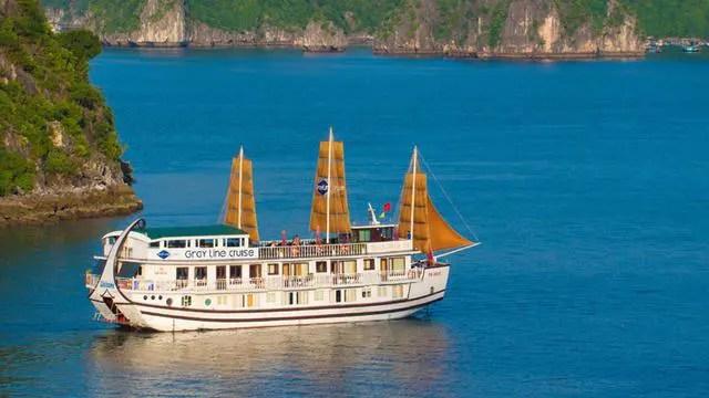 Halong Gray Line Cruise Holidays