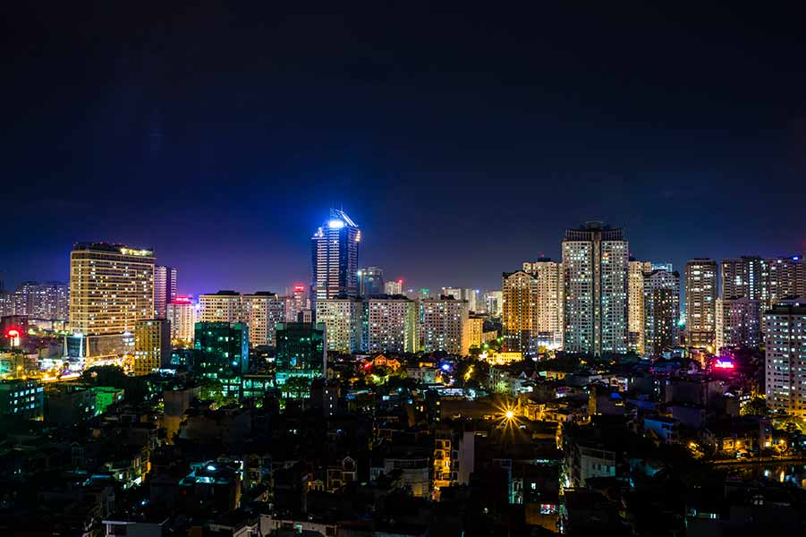 A city in vietnam