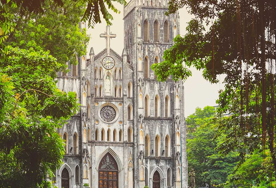 St Joseph's Cathedral in Hanoi