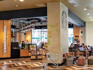 hcmc-d3-romea-Starbucks coffee-ホーチミン-3区-ショッピングモール-ロメア-スターバックス
