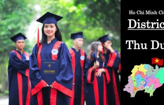 トゥドゥック区-District Thu Duc-HCMC-Vietnam