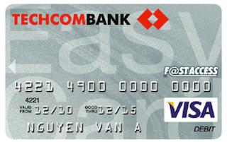 Techcombank-Debitcard