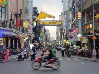 ベトナム_ホーチミン_1区_ブイビエン通り_Vietnam_HCMC_Dist1_BuiVien St._Entrance (1)