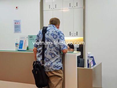 ベトナム_ホーチミン_7区_FVホスピタル_待合カウンター_Vietnam_Hochiminh-Dist7_FV Hospital_counter
