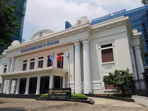 Vietnam_HoChiMinh_Dist1_WallStreet_Stock Exchange