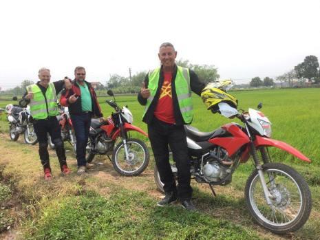 Short North-west Vietnam motorbike tour to Sapa