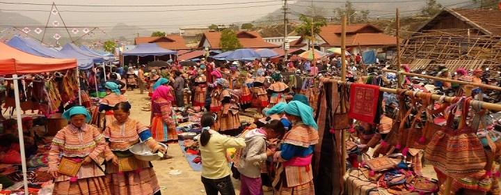 Markt - Bac Ha, Vietnam