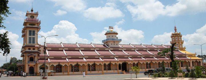 Cao Dai Temple - Tay Ninh, Vietnam