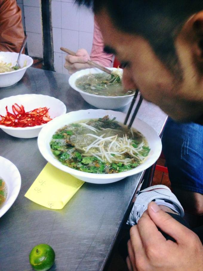 ウナギ フォー ベトナム料理 レシピ 作り方