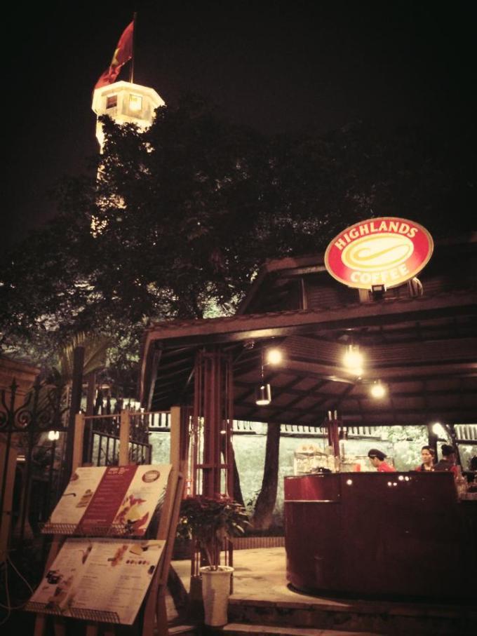 ハノイ highland カフェ ベトナム おすすめ 観光地