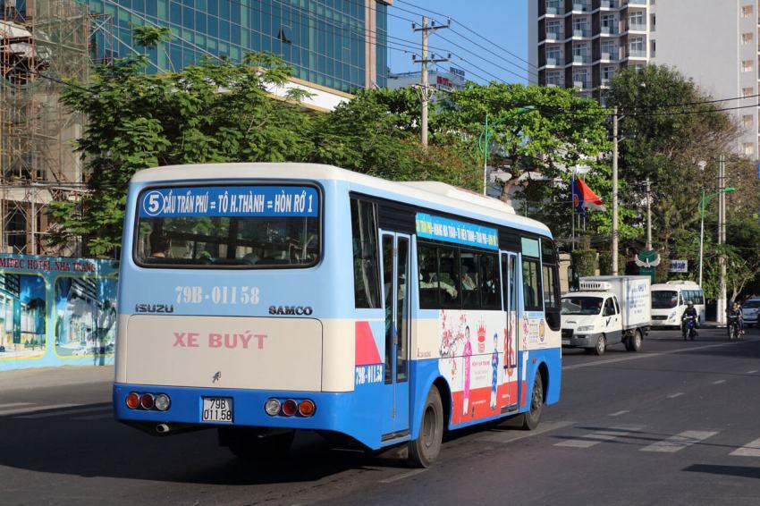 Автобус №5 в Нячанге