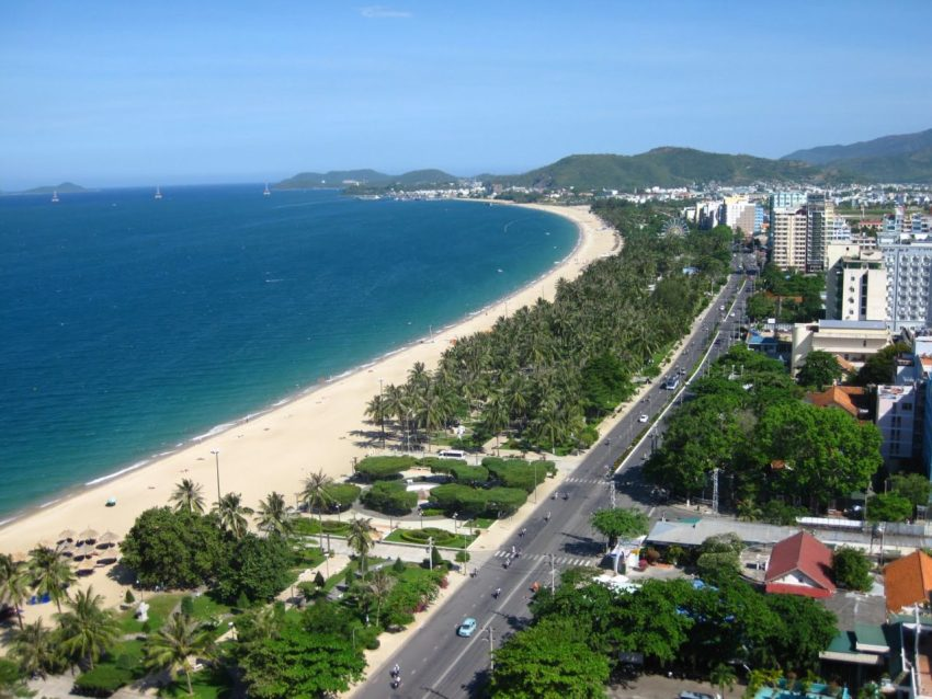 Пляж в Вунгтау